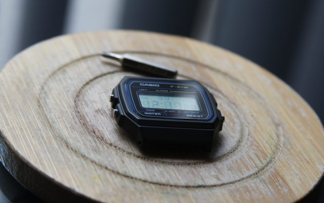 Hacking the Casio F-91W to Handle 1000+ PSI — Adventures